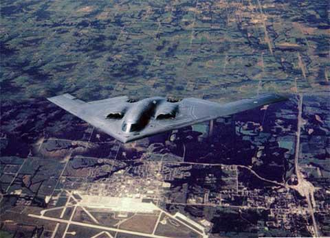 美国怀特曼空军基地:幽灵的堡垒