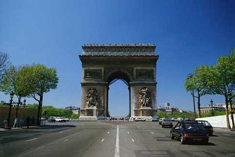 法国巴黎凯旋门