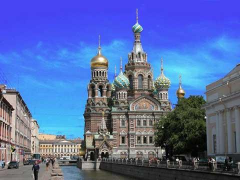 俄国圣彼得堡地标