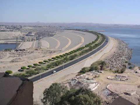 埃及阿斯旺水坝