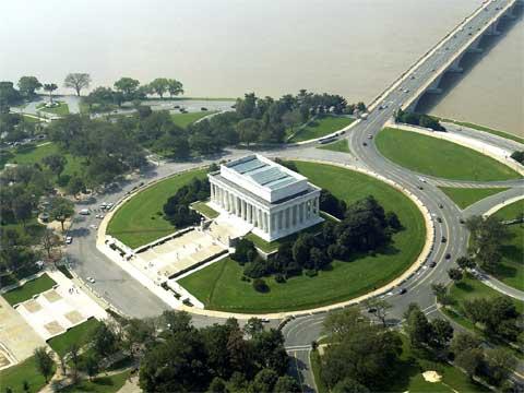 华盛顿林肯纪念堂