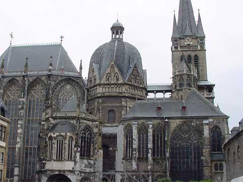 德国亚琛大教堂