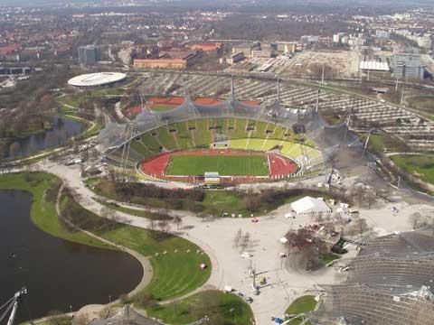 德国慕尼黑奥林匹克公园和体育场