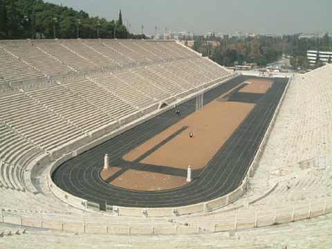 希腊雅典大理石体育场