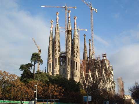 西班牙巴塞罗那圣家堂