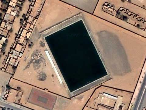 Google Earth上的世界最大的等离子电视