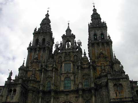 西班牙圣地亚哥—德孔波斯特拉古城