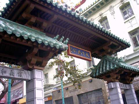 美国旧金山的中国城