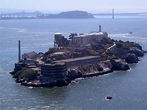 美国旧金山恶魔岛