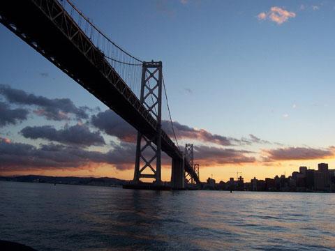 美国旧金山海湾大桥