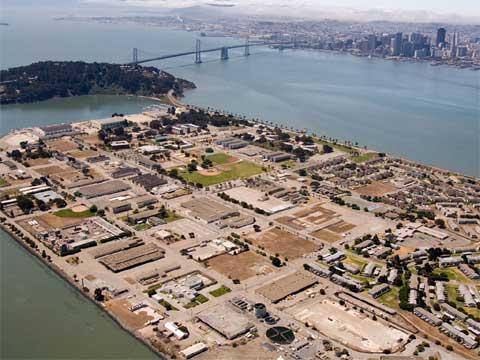 美国旧金山金银岛