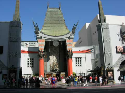 美国洛杉矶中国剧院
