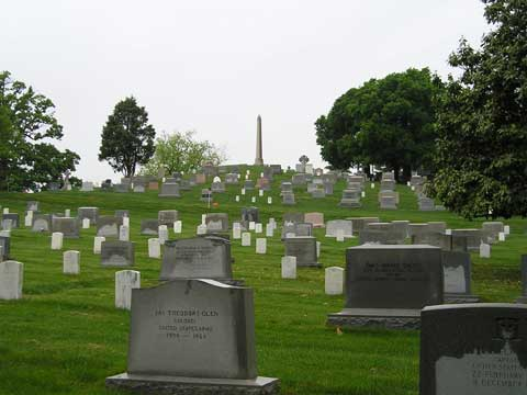 美国华盛顿阿灵顿国家公墓