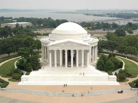 美国杰斐逊纪念堂