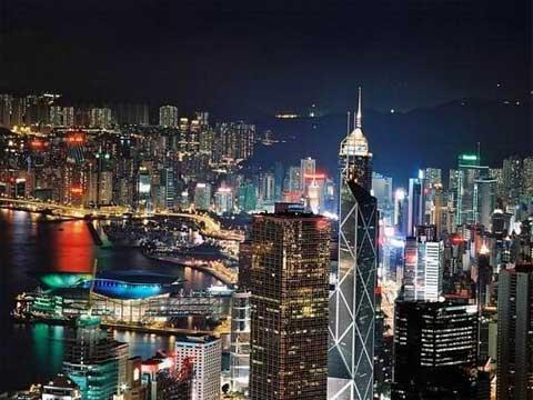 中银大厦--香港