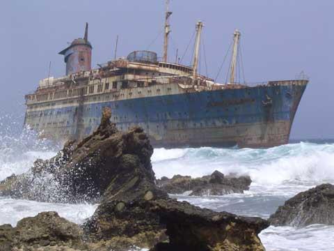 马德拉群岛上的沉船