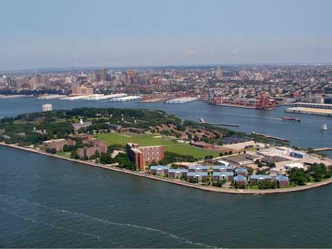 美国纽约总督岛