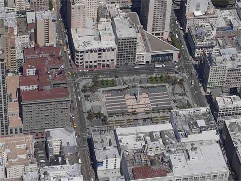 美国旧金山联合广场