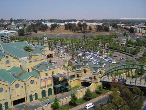 非洲南非约翰内斯堡金礁石城
