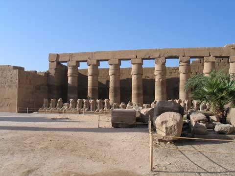 非洲埃及卡纳克神庙
