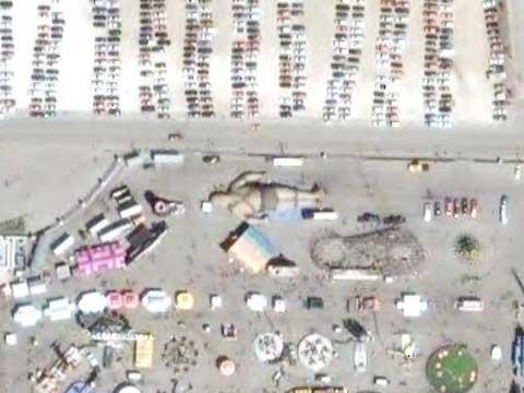Google Earth上的巨人