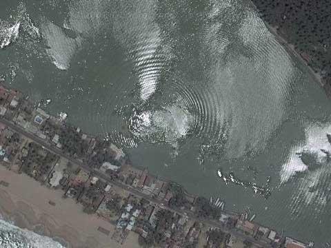 墨西哥的水下爆炸