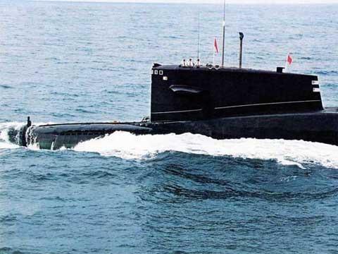 中国夏级弹道导弹核潜艇