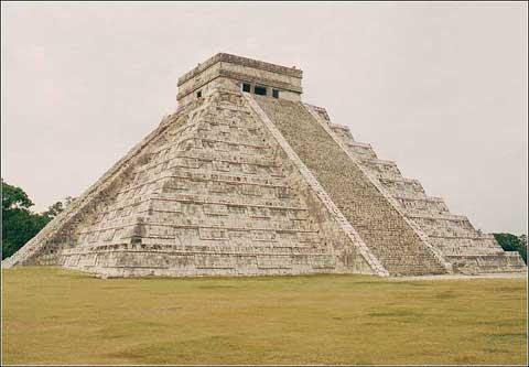 墨西哥尤卡坦的玛雅古迹
