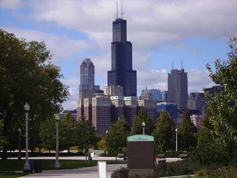 美国芝加哥西尔斯大厦
