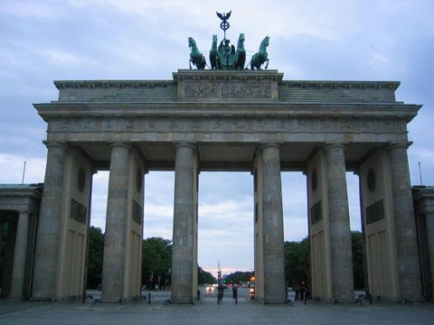 德国勃兰登堡门
