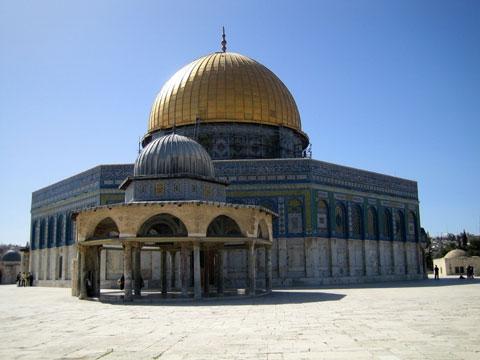 耶路撒冷的圆顶清真寺