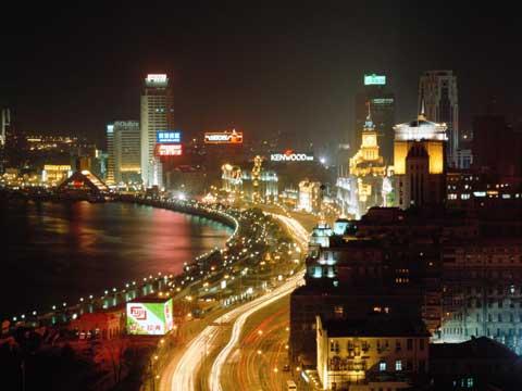 外滩--上海