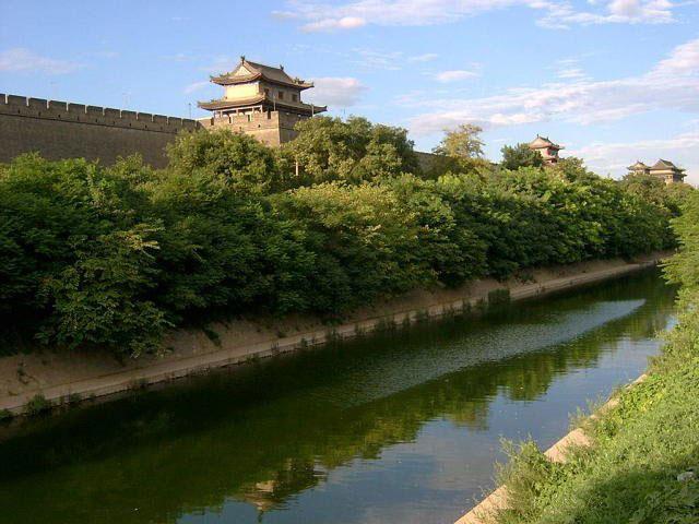 西安交通地图_西安城墙-谷歌地图观察