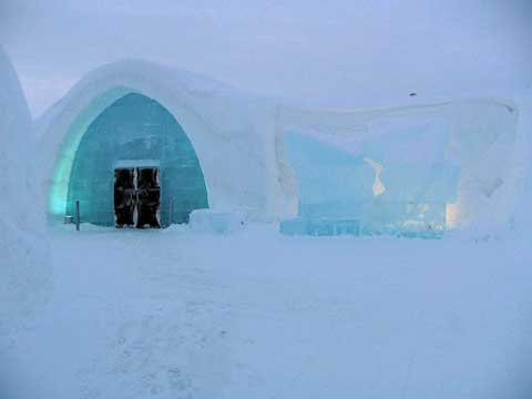 瑞典冰旅馆