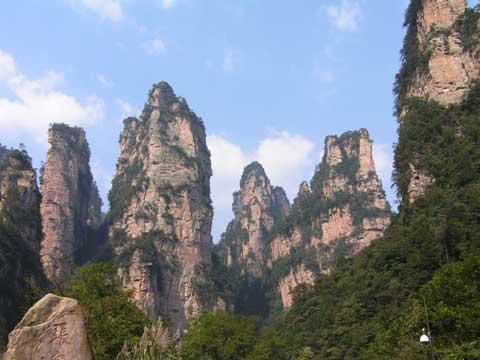 湖南张家界旅游地标