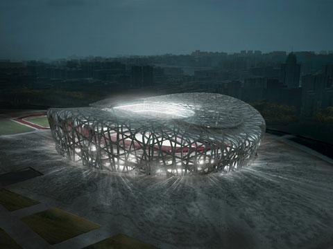 北京鸟巢国家体育场