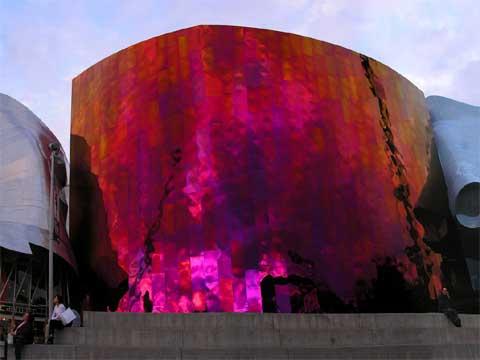 西雅图体验音乐计划博物馆