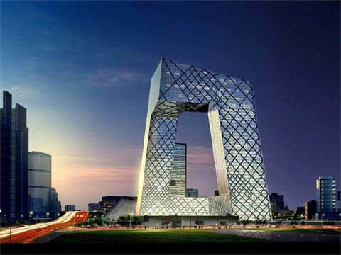 北京中央电视台新址