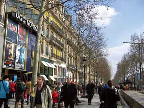 法国巴黎香榭丽舍大街CHAMPS-ELYSEES