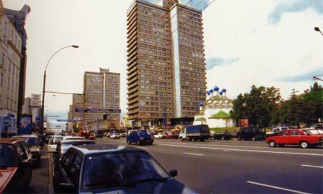 俄国莫斯科市阿尔巴特大街Arbat Street
