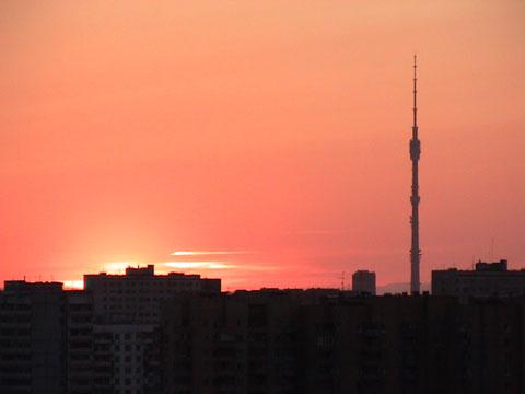 俄国莫斯科电视塔