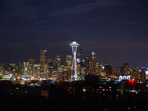 美国西雅图的太空针塔