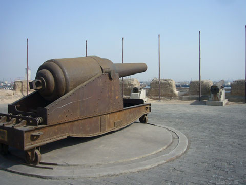 天津大沽口炮台