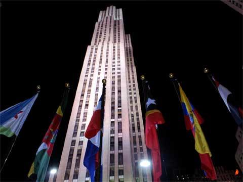 美国纽约洛克菲勒中心