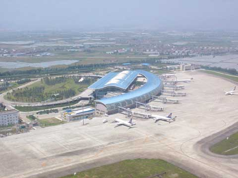 浙江宁波栎社机场