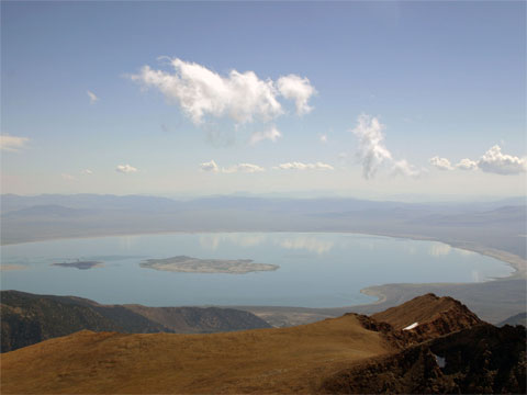 美国加州莫诺湖