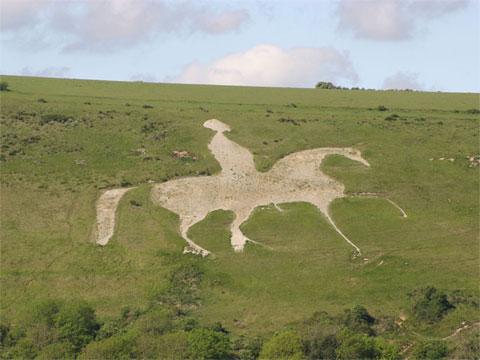 英国奥斯明顿白马