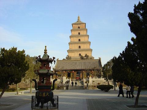 陕西西安大雁塔