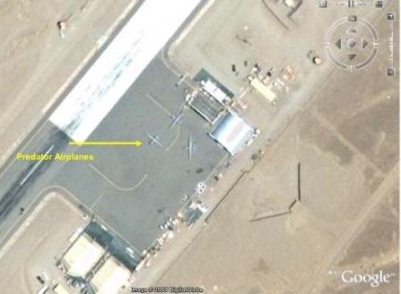 美军在巴基斯坦境内的无人战机