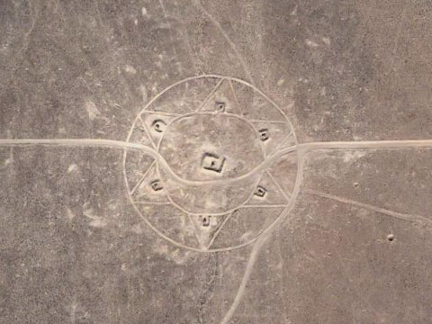 美国内华达州的大卫星